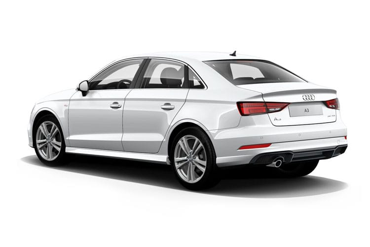 Audi A3 30 Saloon 4Dr 2.0 TDI 116PS S line 4Dr Manual [Start Stop] [Comfort Sound] back view