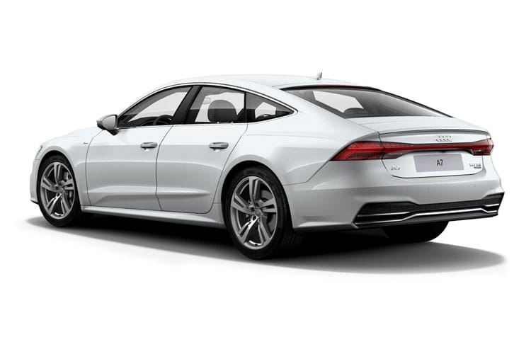 Audi A7 RS7 Sportback quattro 5Dr 4.0 TFSI V8 600PS Carbon Black 5Dr Tiptronic [Start Stop] [Comfort Sound] back view