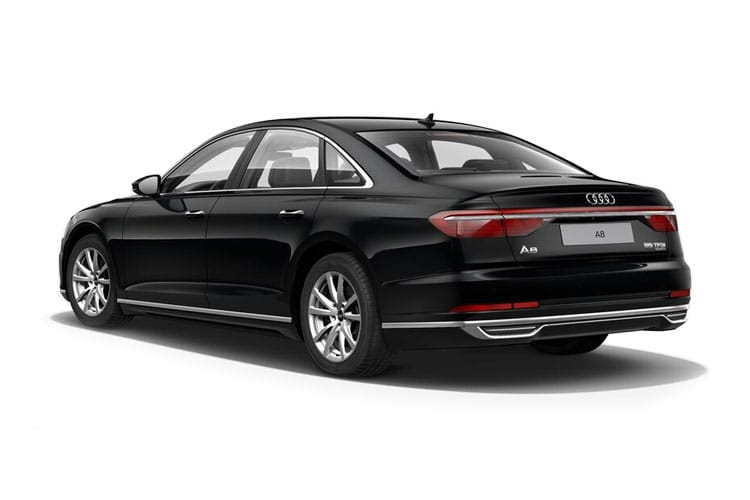 Audi A8 50 Saloon quattro LWB 4Dr 3.0 TDI V6 286PS Sport 4Dr Tiptronic [Start Stop] [Comfort Sound] back view