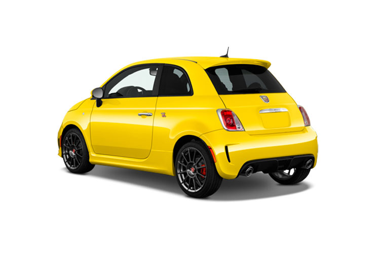 Abarth 595 Hatch 3Dr 1.4 T-Jet 165PS Turismo 3Dr Manual back view