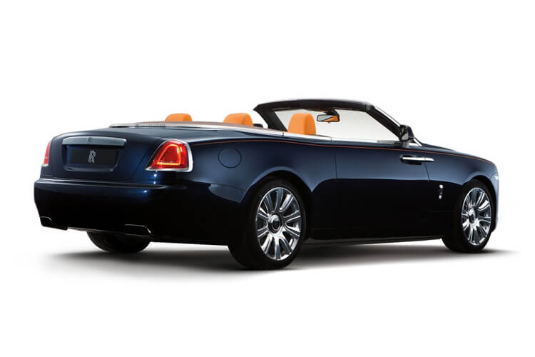 Rolls Royce Dawn Convertible 6.6 V12 563PS  2Dr Auto back view