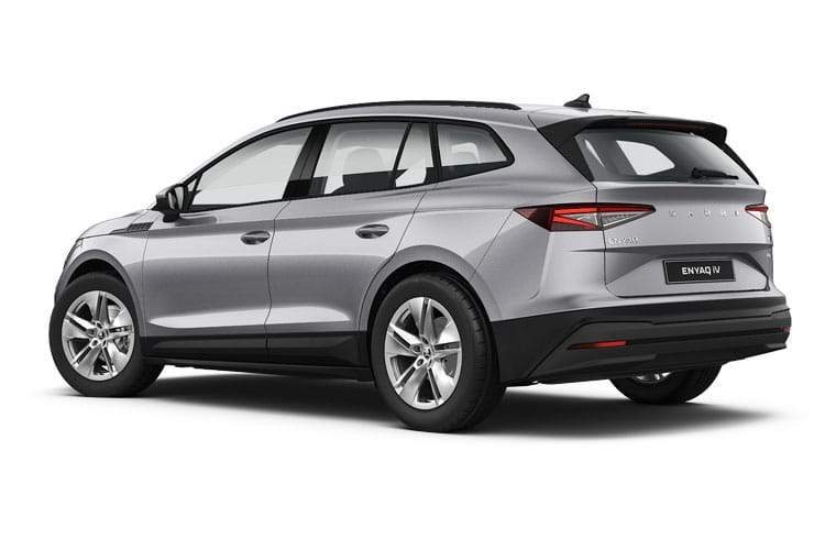 Skoda Enyaq iV 80 SUV Elec 82kWh 150KW 204PS  5Dr Auto [Lodge] back view