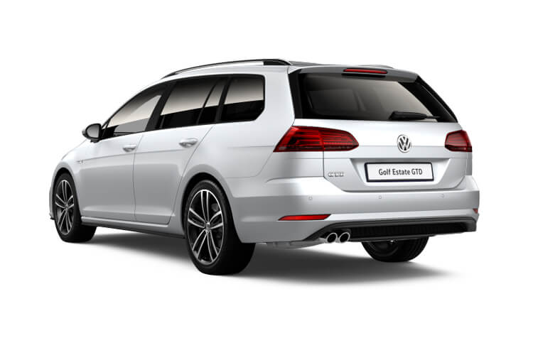 Volkswagen Golf Estate 1.5 TSI EVO 150PS Life 5Dr Manual [Start Stop] back view