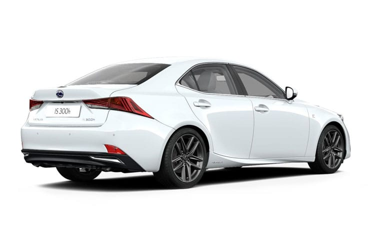 Lexus IS 300 Saloon 2.5 h 223PS IS 4Dr E-CVT [Start Stop] [Sport SRoof] back view