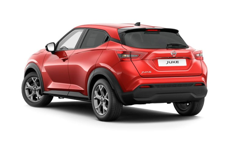 Nissan Juke SUV 1.0 DIG-T 114PS N-Connecta 5Dr Manual [Start Stop] back view