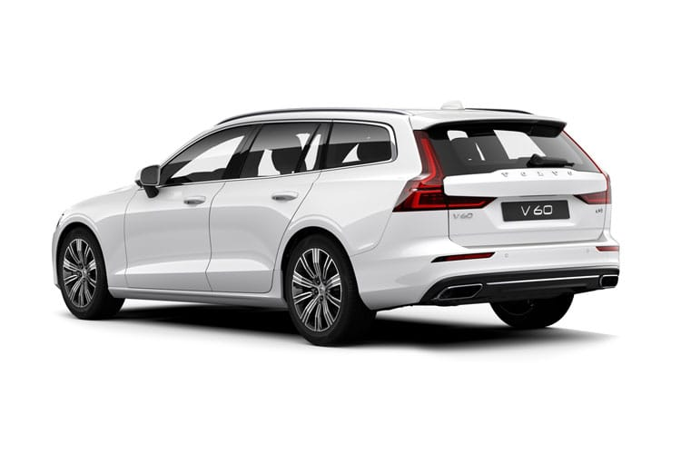 Volvo V60 Estate AWD PiH 2.0 h T6 11.6kWh 340PS Inscription 5Dr Auto [Start Stop] back view