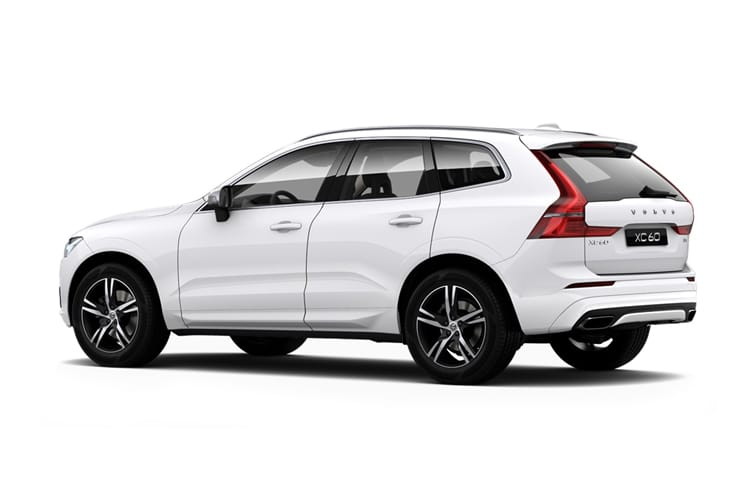Volvo XC60 SUV 2.0 B4 MHEV 197PS Inscription 5Dr Auto [Start Stop] back view