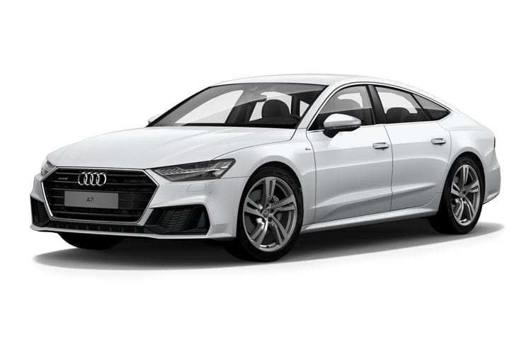 Audi A7 RS7 Sportback quattro 5Dr 4.0 TFSI V8 600PS Carbon Black 5Dr Tiptronic [Start Stop] [Comfort Sound] front view