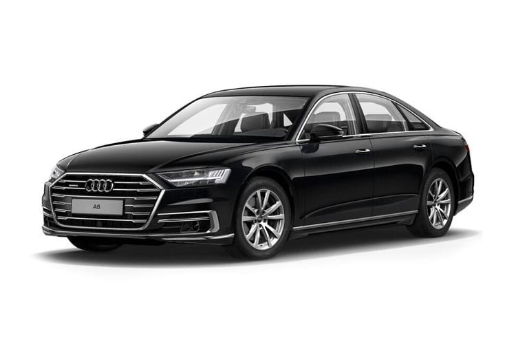 Audi A8 50 Saloon quattro LWB 4Dr 3.0 TDI V6 286PS Sport 4Dr Tiptronic [Start Stop] [Comfort Sound] front view