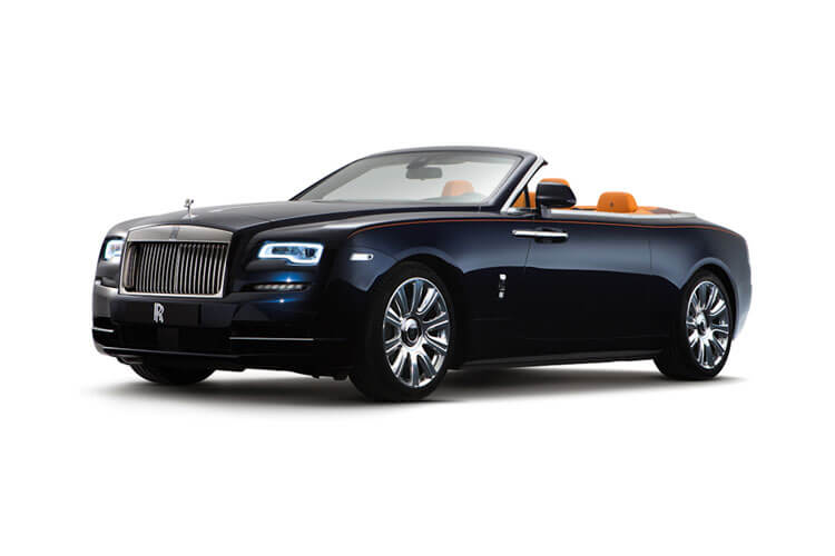 Rolls Royce Dawn Convertible 6.6 V12 563PS  2Dr Auto front view