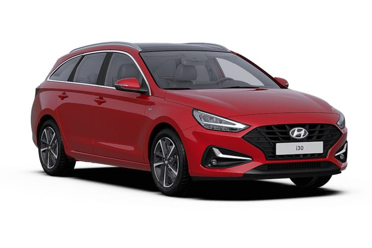 Hyundai i30 Tourer 1.6 CRDi 115PS Premium SE 5Dr Manual [Start Stop] front view