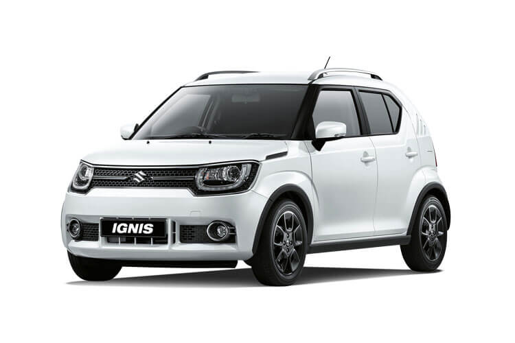 Suzuki Ignis Hatch 5Dr 1.2 Dualjet MHEV 83PS SZ-T 5Dr Manual [Start Stop] front view