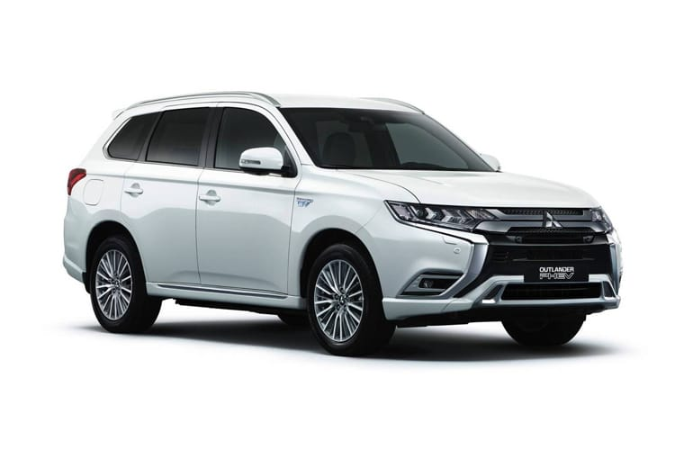 Mitsubishi Outlander PHEV SUV 2.4 h TwinMotor 13.8kWh 224PS Dynamic 5Dr CVT [Start Stop] front view