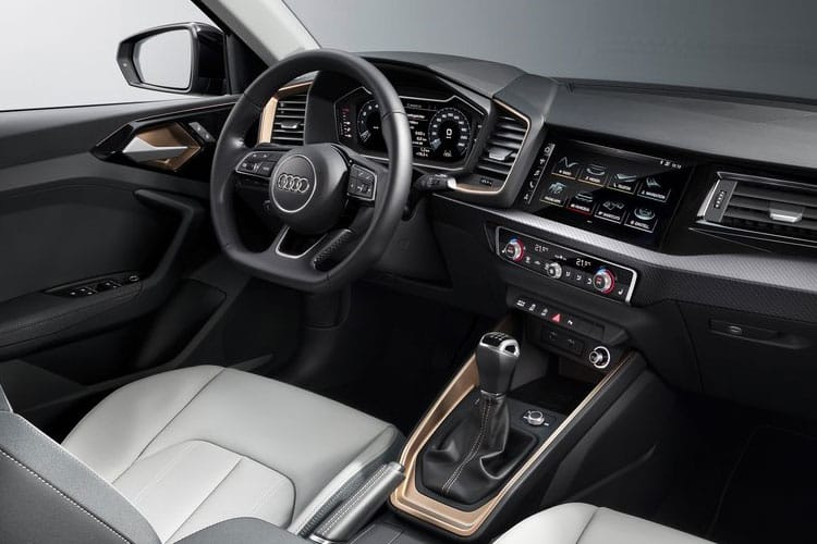 Audi A1 30 Sportback 5Dr 1.0 TFSI 110PS S line 5Dr S Tronic [Start Stop] [Technology] inside view