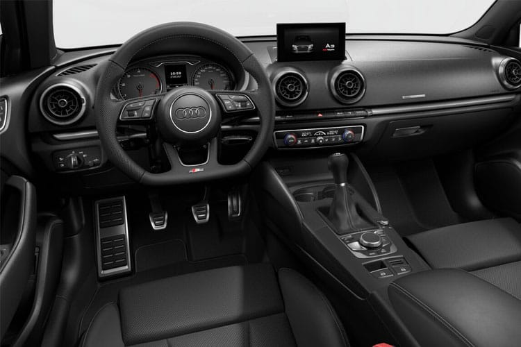 Audi A3 30 Saloon 4Dr 2.0 TDI 116PS S line 4Dr Manual [Start Stop] [Comfort Sound] inside view