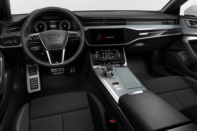 Audi A7 RS7 Sportback quattro 5Dr 4.0 TFSI V8 600PS Carbon Black 5Dr Tiptronic [Start Stop] [Comfort Sound] inside view