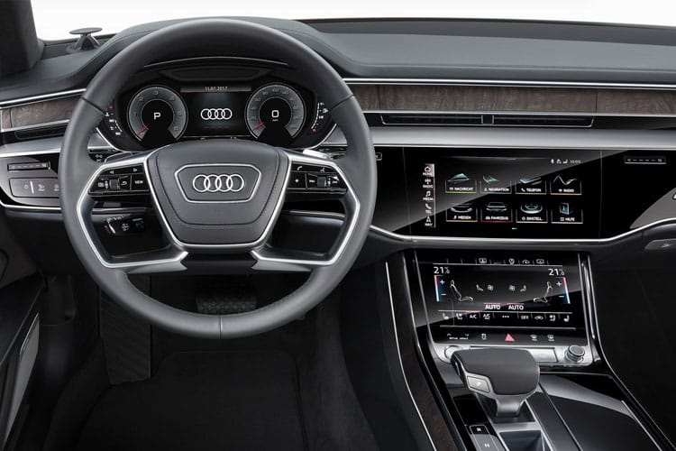 Audi A8 50 Saloon quattro LWB 4Dr 3.0 TDI V6 286PS Sport 4Dr Tiptronic [Start Stop] [Comfort Sound] inside view