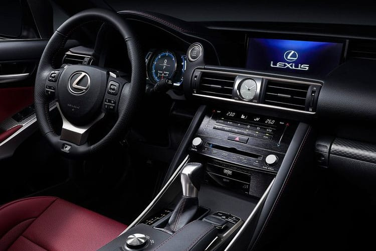Lexus IS 300 Saloon 2.5 h 223PS IS 4Dr E-CVT [Start Stop] [Sport SRoof] inside view