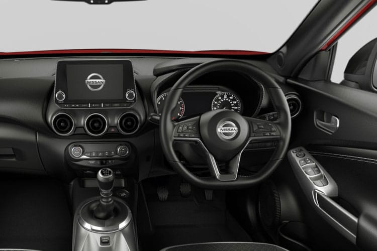 Nissan Juke SUV 1.0 DIG-T 114PS N-Connecta 5Dr Manual [Start Stop] inside view