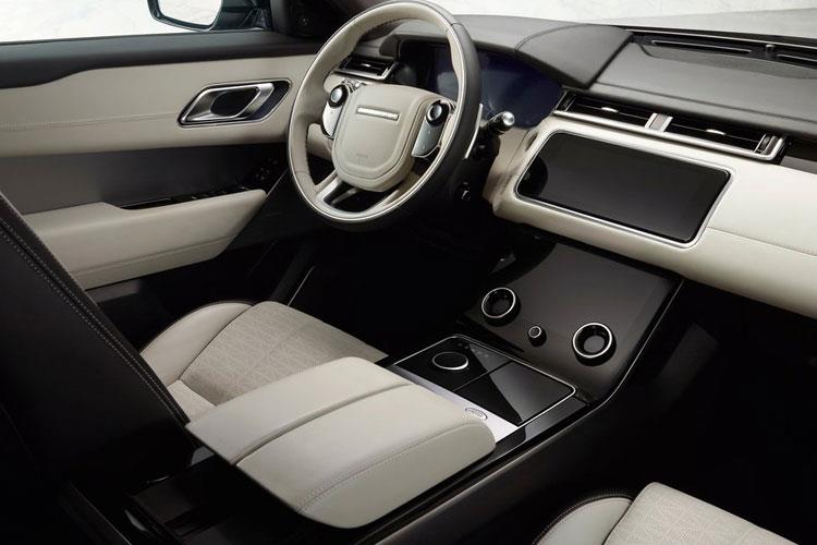Land Rover Range Rover Velar SUV 5Dr 3.0 D MHEV 300PS R-Dynamic S 5Dr Auto [Start Stop] inside view