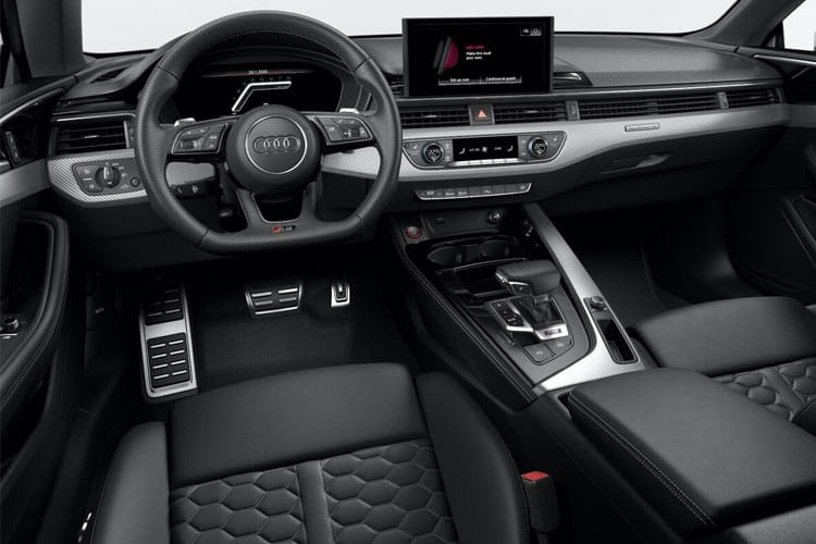Audi A5 35 Coupe 2Dr 2.0 TFSI 150PS S line 2Dr S Tronic [Start Stop] inside view