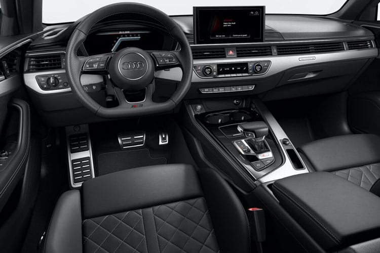 Audi A4 45 Saloon quattro 4Dr 2.0 TFSI 265PS Black Edition 4Dr S Tronic [Start Stop] inside view