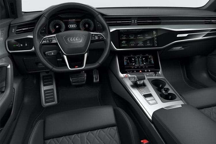 Audi A6 40 Saloon 2.0 TDI 204PS Black Edition 4Dr S Tronic [Start Stop] inside view